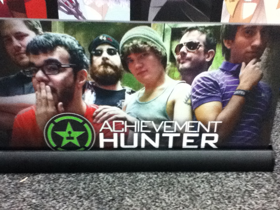 Comic Con 2013-Achievement Hunter by jkphantom9 on DeviantArt Achievement Hunter Comic Poster