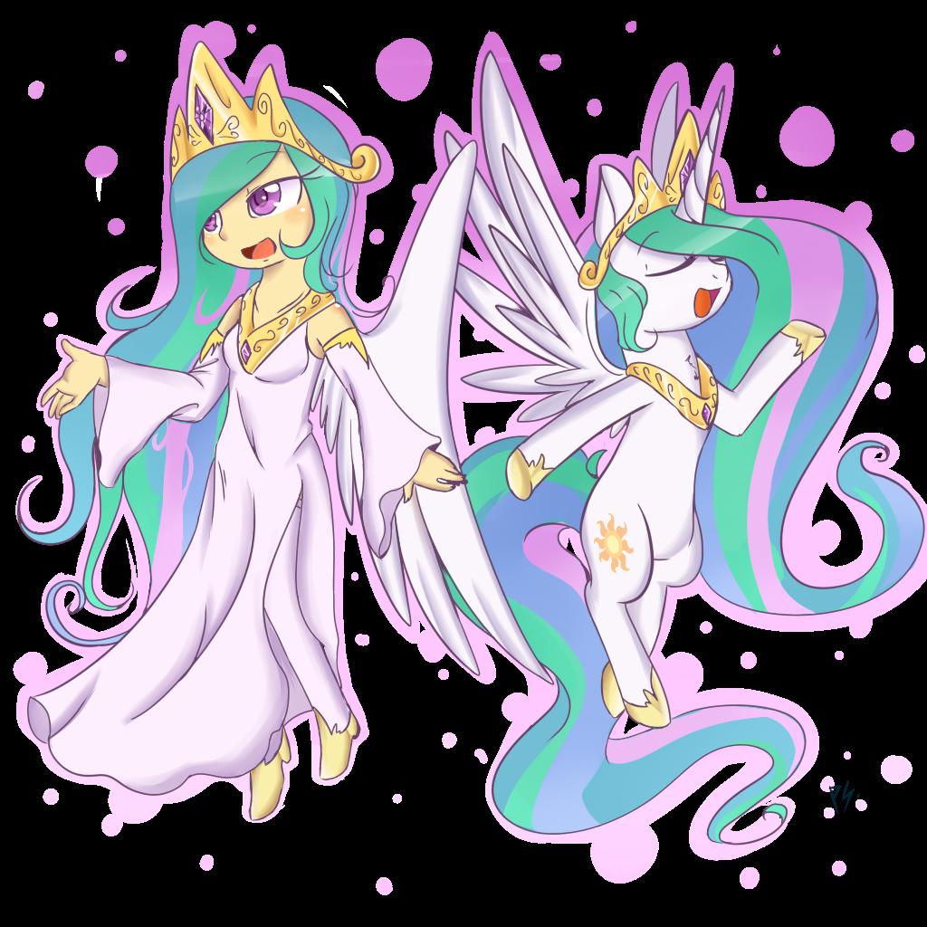 Princess Celestia by chibimlp-lover