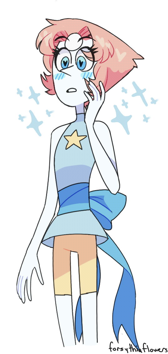 sorry i havent drawn much lately! ive been really busy with schoolwork haha...   can i marry pearl??? i love her im gay for pearl