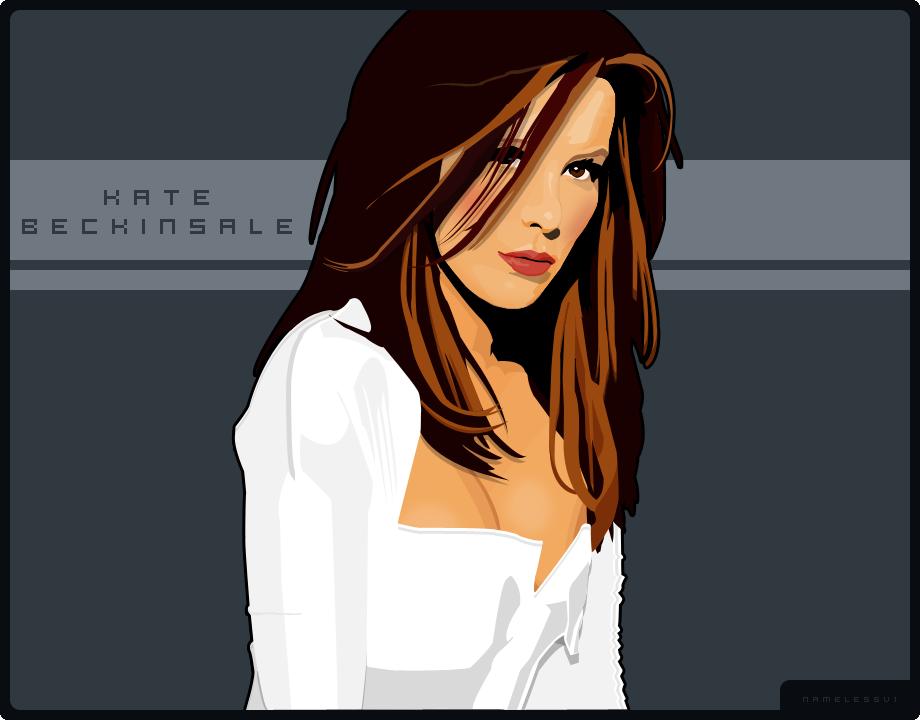 Digital Kate Beckinsale by Namelessv1