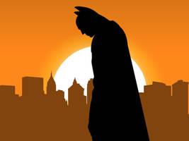 Gotham Sunset by Namelessv1