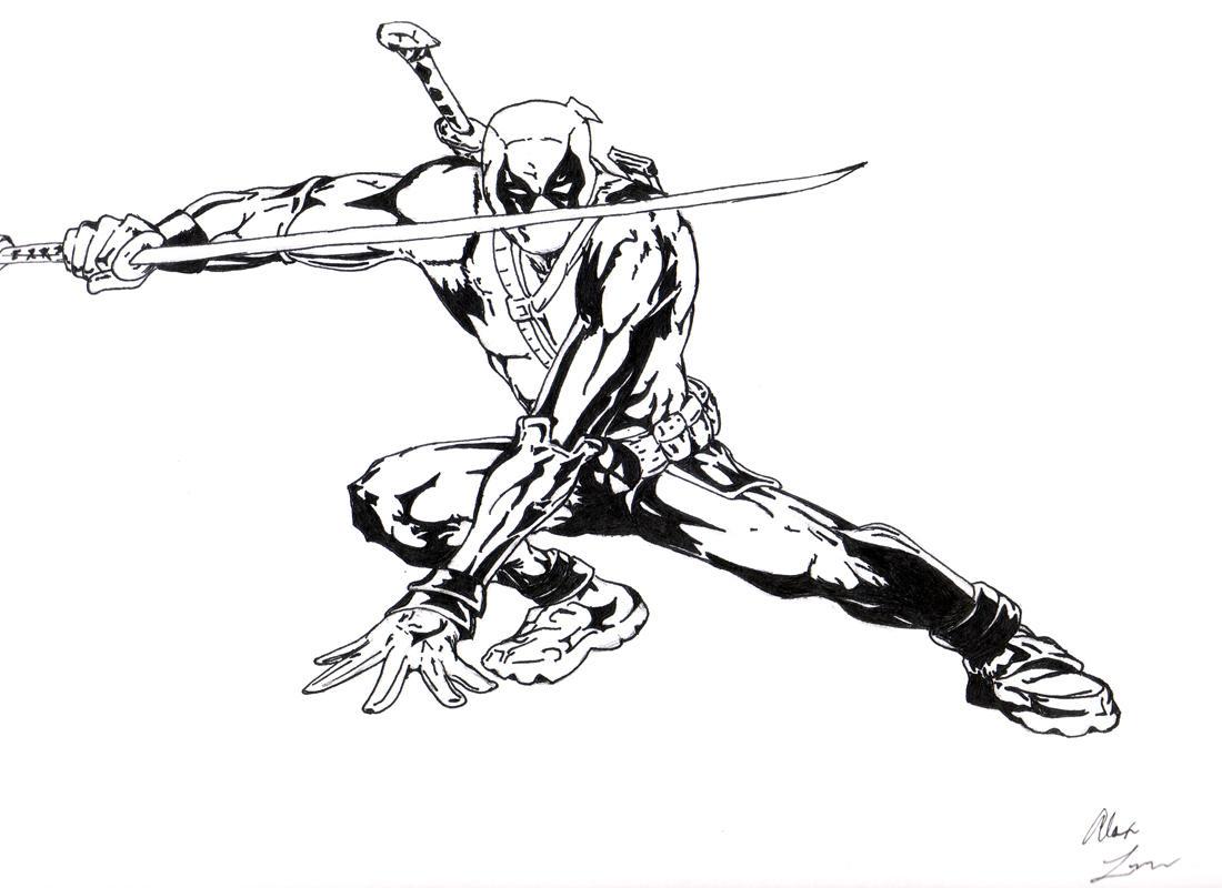 Deadpool by Namelessv1X Men Deadpool Drawings