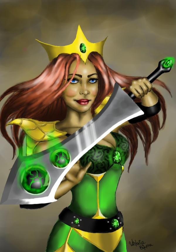 Warrior Girl by 88Hypnotist8