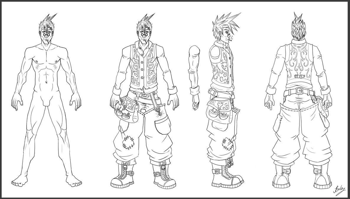 D Amp D Character Design Sheet : Steampunk character sheet by jennifereasley on deviantart