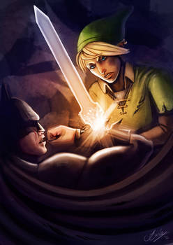 Link vs. Batman