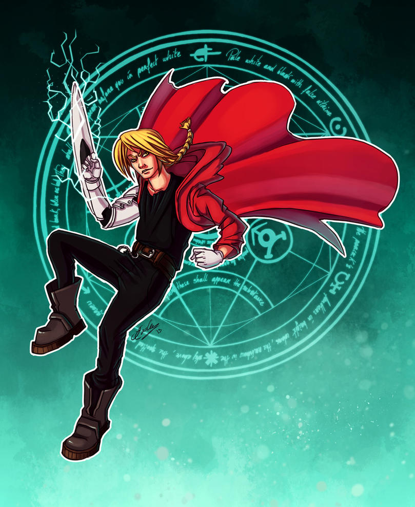 Edward Elric by JenniferEasley