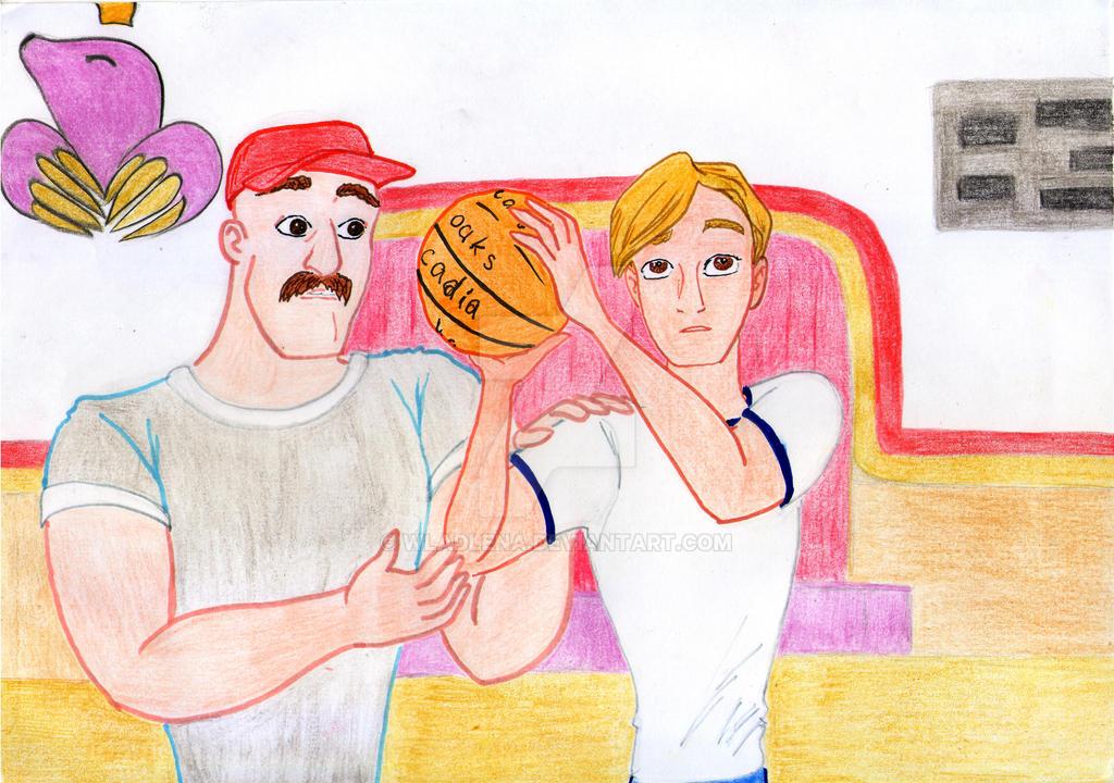 Trollhunters. Basketball by Wladlena