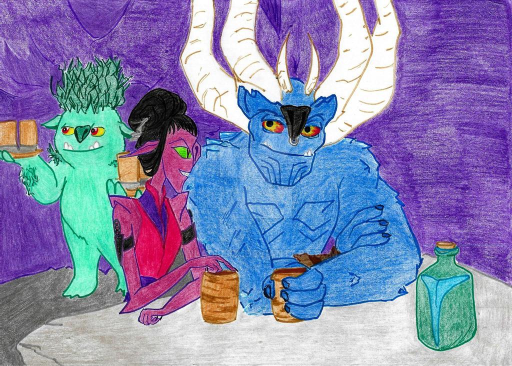 Trollhunters.Valentine's day 6. Spy by Wladlena
