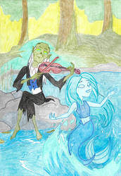 Nix and mermaid