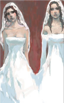 Now kiss the bride