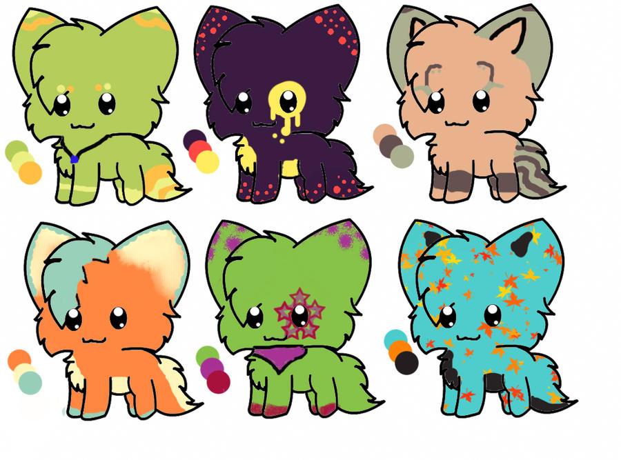 Adopt kittens [open] by julietkstar
