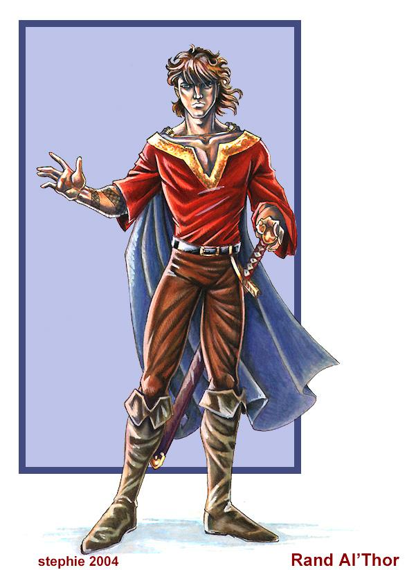 Rand Al Thor by lady-cybercat