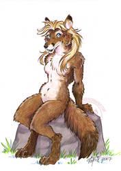 Cute Fox Test by lady-cybercat