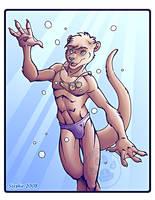 Otter Boy 2008 by lady-cybercat