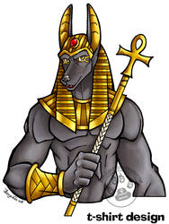 Anubis Shirt by lady-cybercat