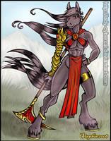 Akosha Terias Commission by lady-cybercat