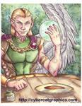 Watercolor Elf Lord by lady-cybercat