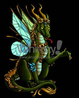 Guardian Dragon by lady-cybercat