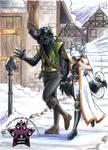 Winter Villiage Commission