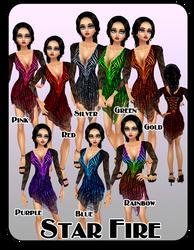 Star Fire  Dress IMVU by lady-cybercat