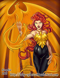 Jean Grey by lady-cybercat