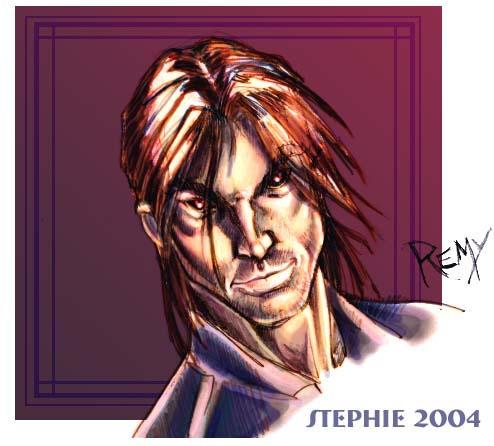 Gambit aka Remy LeBeau by lady-cybercat