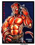 Hellboy and friend