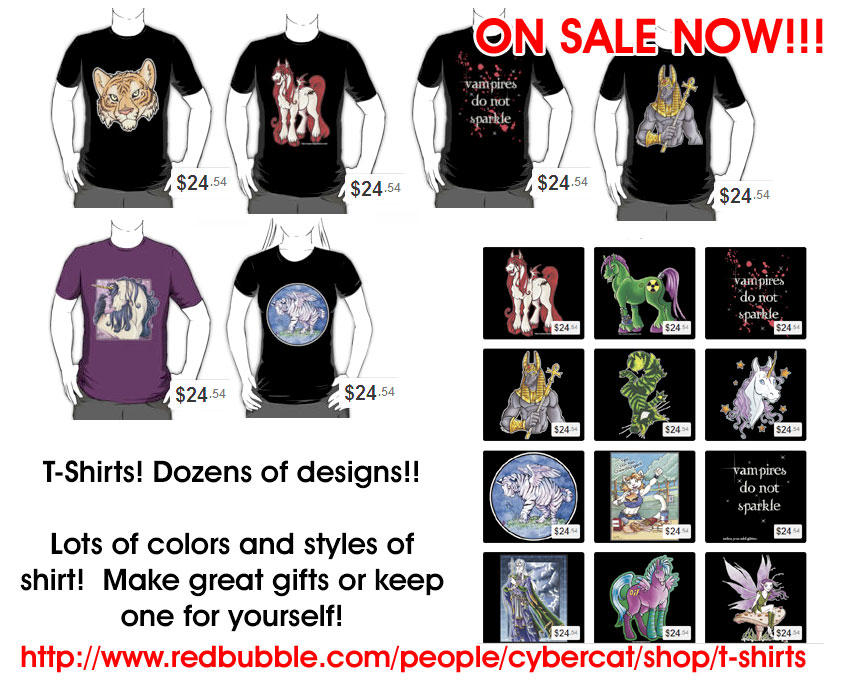 T-Shirt Sale Fantasy and More