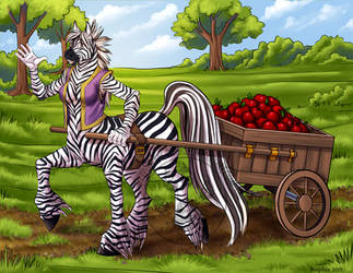 StripedShire Commission by lady-cybercat