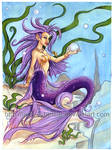 Mermaid Acrylic Painting