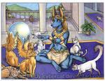 Crystal Gazer by lady-cybercat