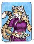 Sushi Cheetah 4 sale at Anthrocon