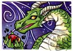 Dragon Jewel ACEO