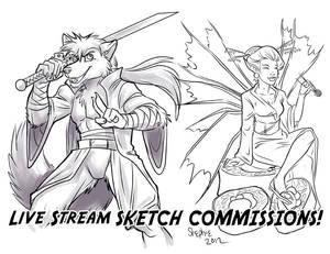 Livestream Sketches