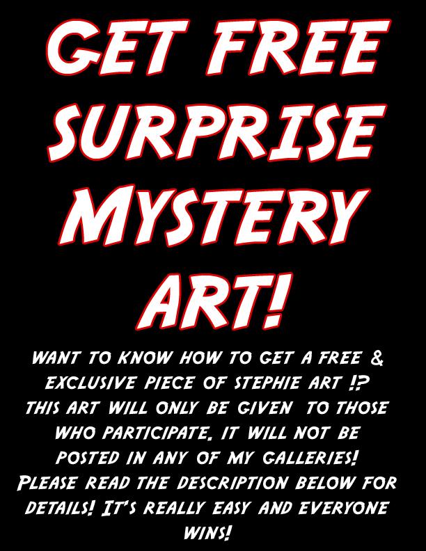 Get Free Surprise Art Plz Read 4 Details by lady-cybercat