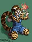 Ralloonx Colored Cybercat Art Alicemo