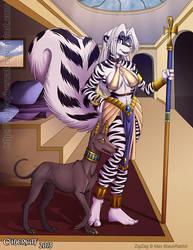 Egyptian Zig Zag by lady-cybercat
