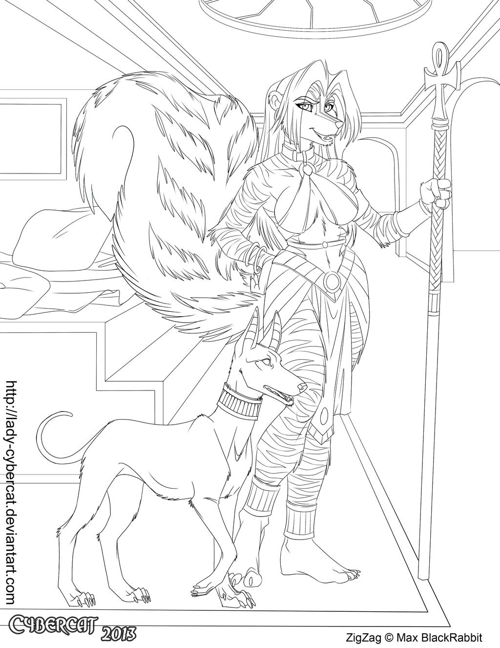 Free Furry Fox Coloring Pages Sketch Coloring Page