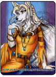 Ivory the White Wolf of Avalon