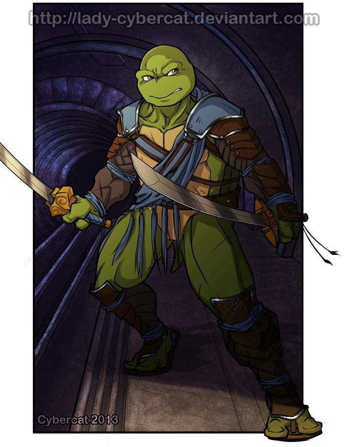 Leonardo  Urban Warrior ! by lady-cybercat