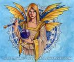 Golden Winter Fairy