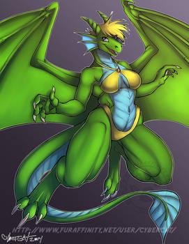 Dragon Color Test