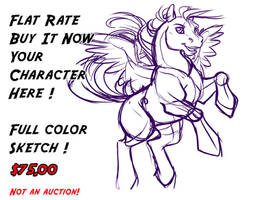 MLP YCH SOLD by lady-cybercat