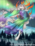 TLDragon 's Okami Aurora Commission
