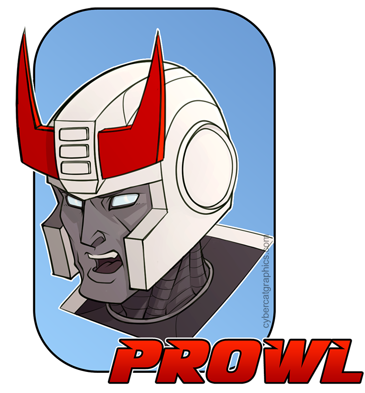 Prowl doodle by lady-cybercat