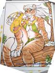 Tigress and friend