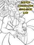 Taking 2 sketch commissions !