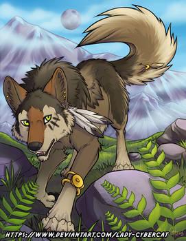 Werewolf-Wolffire YCH Wolf