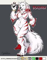 Custom Werewolf for Bobbob2 by lady-cybercat