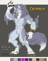 Derrick Adoptable Werewolf  SOLD by lady-cybercat